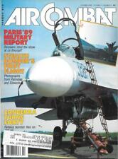 Air Combat Oct.1989 Palmdale Edwards Stealth Bombers Canberra Apache ATHS/AI