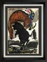 Pablo PICASSO Lithograph LIMITED Edition TORO | Cat. Ref. C112 w/ FRAME