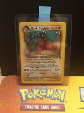 Dark dugtrio 6/82 Team Rocket EX/NM Condition Holo Pokemon Card