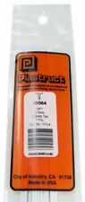 Plastruct 1/8'' 3.2mm Styrene Tee 7 Pcs Scratch Building Supply TFS-4 #90564