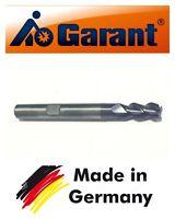 GARANT FEINSTKORN Solid Carbide End Mill 6mm Shank Dia 6MM TiAIN Coat 3-Flute