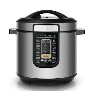 Pentola Elettrica Multicooker 1000W Timer HD2137/78 Philips Cooker All-in-one