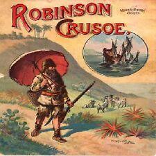 D242  ROBINSON CRUSOE AUDIO BOOK COLLECTION ON MP3 DVD, DANIEL DEFOE