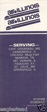 Airline Timetable - Air Illinois - 15/11/80 (US)