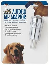 Automatic Faucet AutoFlo Tap Adaptor | Dog Pet Drinking Fountain Waterer TAP1