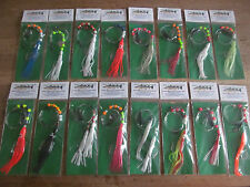 Sea fishing Rigs x 16, Boat Rigs - Quality Professional Rigs - Cod, Pollack rigs
