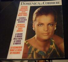 DOMENICA DEL CORRIERE FEB. 1972 NUMERO 7 COVER: ROMY SCHNEIDER (SISSI) + POSTER