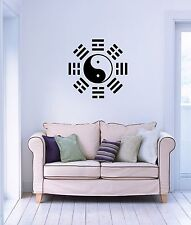 Wall Stickers Vinyl Decal Yin Yang Taiji Oriental Chinese Philosophy (ig986)