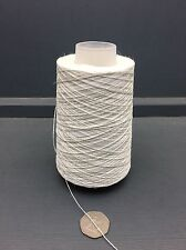 200G CONE 100% LINEN 2/10NM YARN RAW WHITE ECRU
