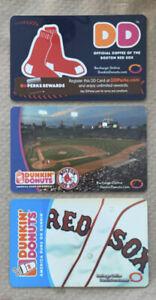 2006-11 Dunkin Donuts Gift Card. BOSTON RED SOX. Mint. Worldwide shipping.