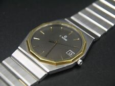 Concord  Mariner Watch Dodecahedro 18K Yellow Gold & SS - Bracelet Original