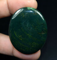 Moss Agate 100% Natural Cabochon 83.85 Cts. Oval Loose Gemstone