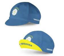 BSK Yorkshire Rose Flag Blue Cycling Cap Cycle Hat with Peak