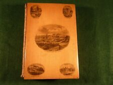 Antique Mauchline Ware Book Edinburgh Scenes Castle Poetical Works Walter Scott