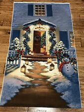 GOOD TIDINGS HOME FOR THE HOLIDAYS cotton quilters 24 x 44