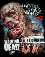 2012 Universal's Halloween Horror Nights The Walking Dead T-Shirt Size Small