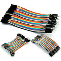 2.54MM 1P-1P Dupont Wire Male Female Cables Jumpers  10CM For Arduino