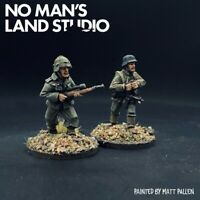 Pro Painted 28mm WW2 German Sniper Team - Artizan Designs - Bolt Action