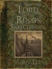 LORD OF THE RINGS SKETCHBOOK ~ PROFUSELY ILLUS ALAN LEE ~ TOLKIEN ~ 1st PRINT HC