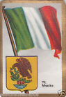 MEXIQUE MEXICO DRAPEAU FLAG IMAGE CARD 30s