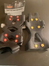 Ergodyne Trex ice snow traction  cleats spikes slip-ons with extra pair Size L