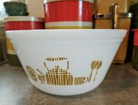 Vintage Federal Glass Mixing Bowl