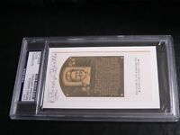 Mickey Mantle Autographed HOF Cut PSA Certified Encapsulated