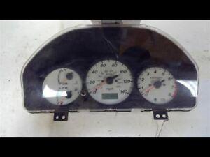 Speedometer Cluster Hatchback Protege5 MPH Fits 02-03 MAZDA PROTEGE 173923