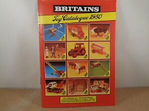 Britains 1980 Toy Catalogue In Excellent Condition,Vintage Item