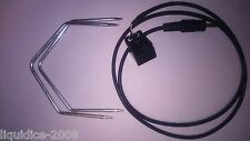 Vauxhall Cd30 AUX entrada adaptador Cable Lead Radio Ipod Iphone Mp3 3.5 Mm Jack