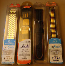 Wholesale Mixed Liquidation Lot of 4 Expansion & Sport Watch Bands $40+ Retail