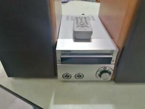 Sony HCD-SE1 CD Player with remote control and speakers