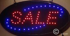 Flashing SALE led new window Shop signs