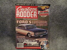 Custom Rodder Magazine September 2003 Vol 13 No. 5 Fords Centennial Celebration