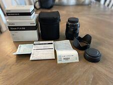 Sigma 35mm 1.4 Nikon DG HSM Art Lens with USB Dock - PRISTINE!