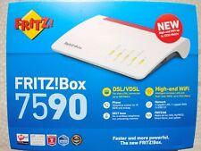Avm fritz!box 7590 international modem router, wireless veloce ac+n 2533 mbit s,