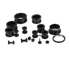 Stretcher Stretching Kit Set 1.2mm-20mm 14pcs Steel Ear Tunnel Plug Expander
