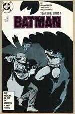 Batman #407-1987 vf 8.0 Frank Miller Year One Revamped origin of Batman