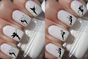 Disney Fée Clochette ongles manucure nail art water decal sticker
