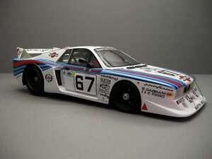 TOP MARQUES 21C LANCIA BETA MONTECARLO TURBO model race car Le Mans 1981 1:18th