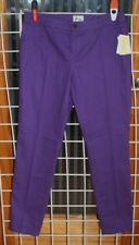 SIZE 8 BEIGE BY ECI PURPLE SKINNY LEG PANTS