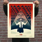 OBEY GIANT SHEPARD FAIREY CONFORMITY TRANCE RED SIGNED NUMBERED