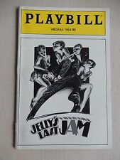 August 1992 - Virginia Theatre Playbill - Jell's Last Jam - Gregory Hines