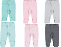 Baby Joggers Long Pants Pyjamas Cotton Unisex With Feet, Newborn to 6-9 months