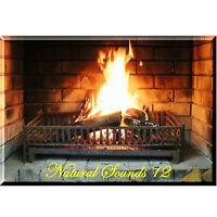 Kaminfeuer, natürliche Geräusche, Kamin Feuer, fire crackle, download  (ns12)