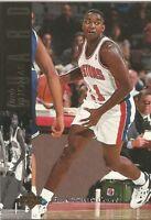 Isiah Thomas 1993/94 NBA Upper Deck SE Electric Court Basketball Card #20