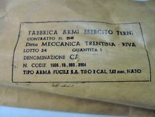 Italian Garand - Tipo 2 -1/2 short - Mt marked - 29 inches long - New in wrapper 00004000