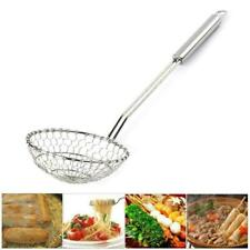 Кухонная посуда чистое дуршлаг сетка ковш, сталь 35 см сетчатый фильтр Z3U6