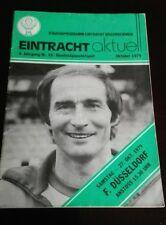 Programm 27.10.1979 Eintracht Braunschweig Fortuna Düsseldorf BTSV Stadionheft