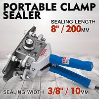"FKR-200  8"" Portable Hand Sealer Aluminum Foil Hand Clamp Heating NEWEST POPULAR"